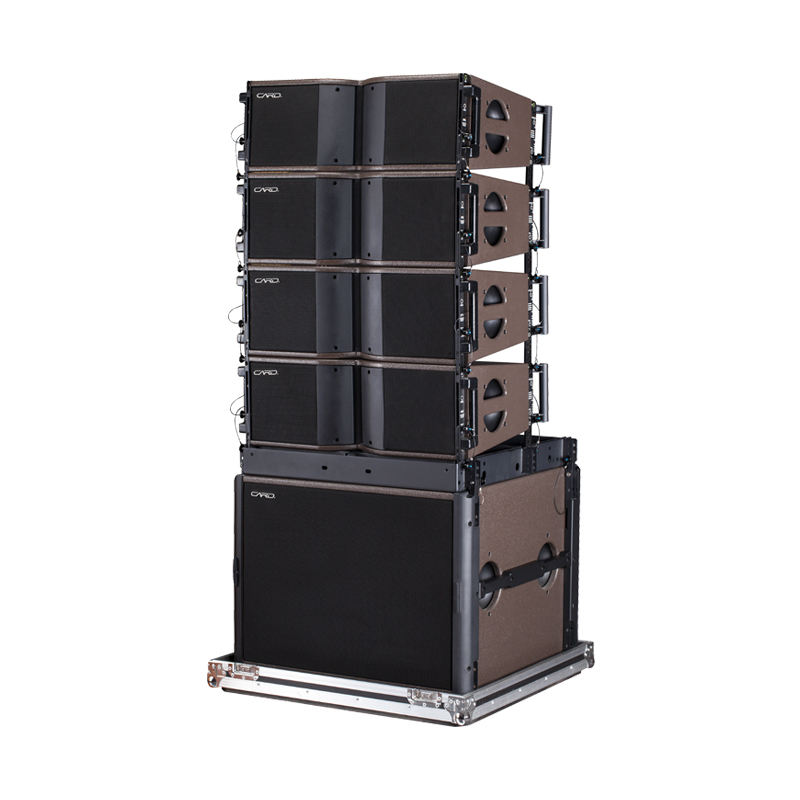 used line array speakers line array 8 inch 2 way line array speaker professional audio system