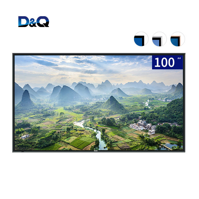 Ultra HD smart <span class=keywords><strong>tv</strong></span> 220 volt 100 pollici nero LED 4K <span class=keywords><strong>tv</strong></span> con <span class=keywords><strong>montaggio</strong></span> <span class=keywords><strong>a</strong></span> <span class=keywords><strong>parete</strong></span>