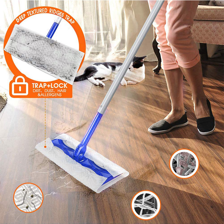 Home Dry Sweeping Refills Cloth Deep Floor Mop Cleaning Cloths Refill