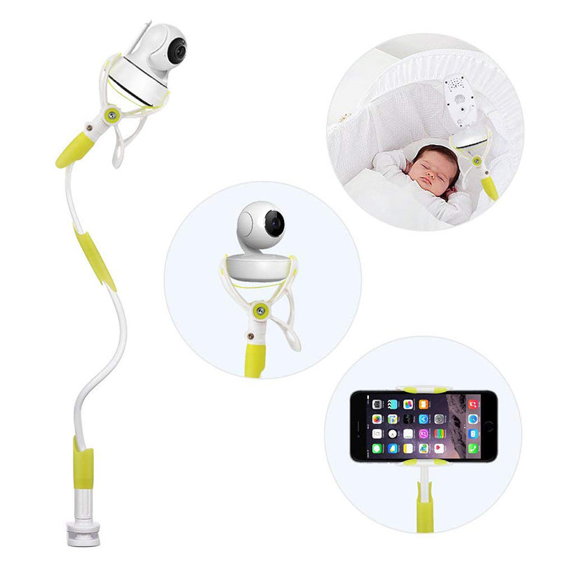 Baby Monitor Holder Universal Baby Monitor Holder Flexible Camera Mount Infant Video Monitor Shelf And Holder