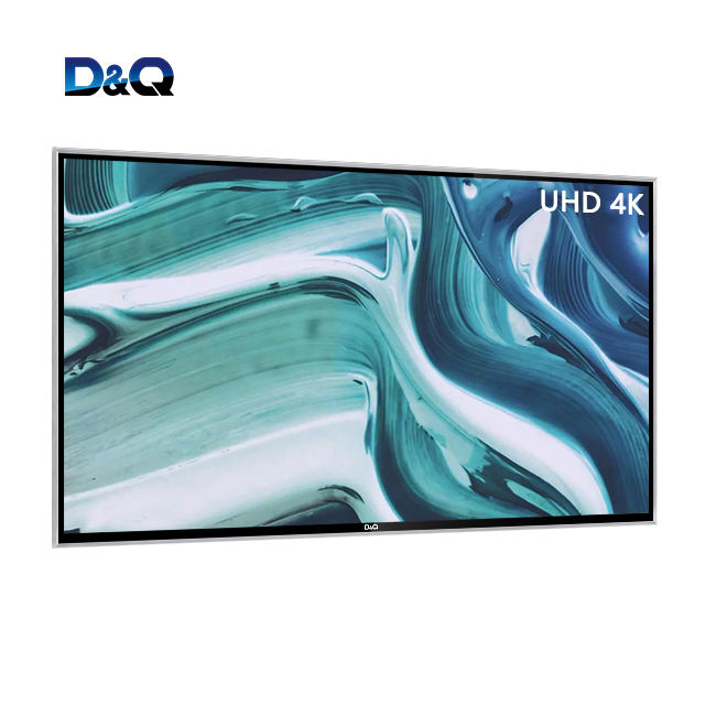 D & Q TV-smart 8k ultra hd 86 дюймов TV A + плоский экран android smart tv для отеля