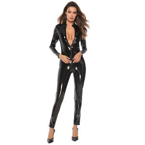 Night club zentai/catsuit Latex catsuit ผู้หญิง Fetish catsuit
