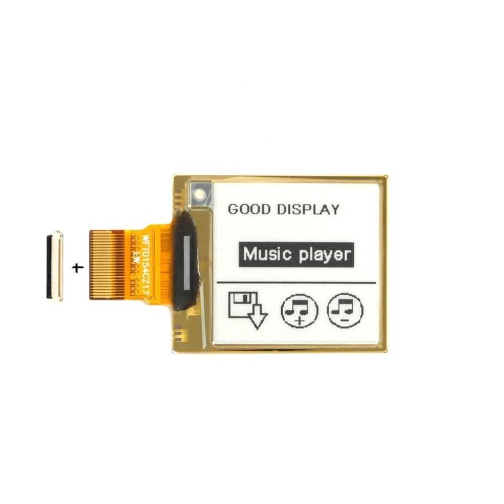 goodisplay cheap epaper 1.54 inch flexible e-ink epaper for smart card