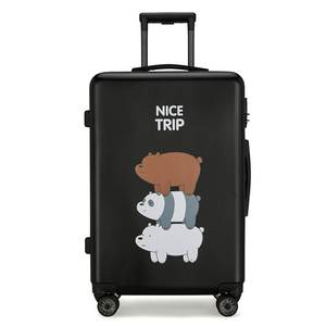 New Style Pure Color Fashion Travel Bags Hard Trolley Case Luggage
