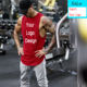 Custom wholesale Bodybuilding Men fitness Gym Sports Tank Top