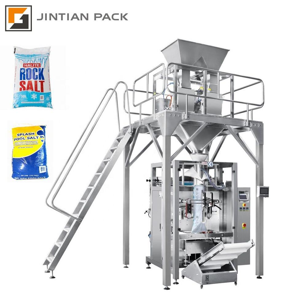 CE JINTIAN PACK 10kg 20kg pasta rice salt automatic packing machine