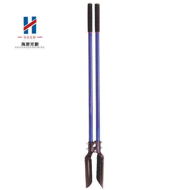 Post Hole Digger with Long Fiberglass Handle