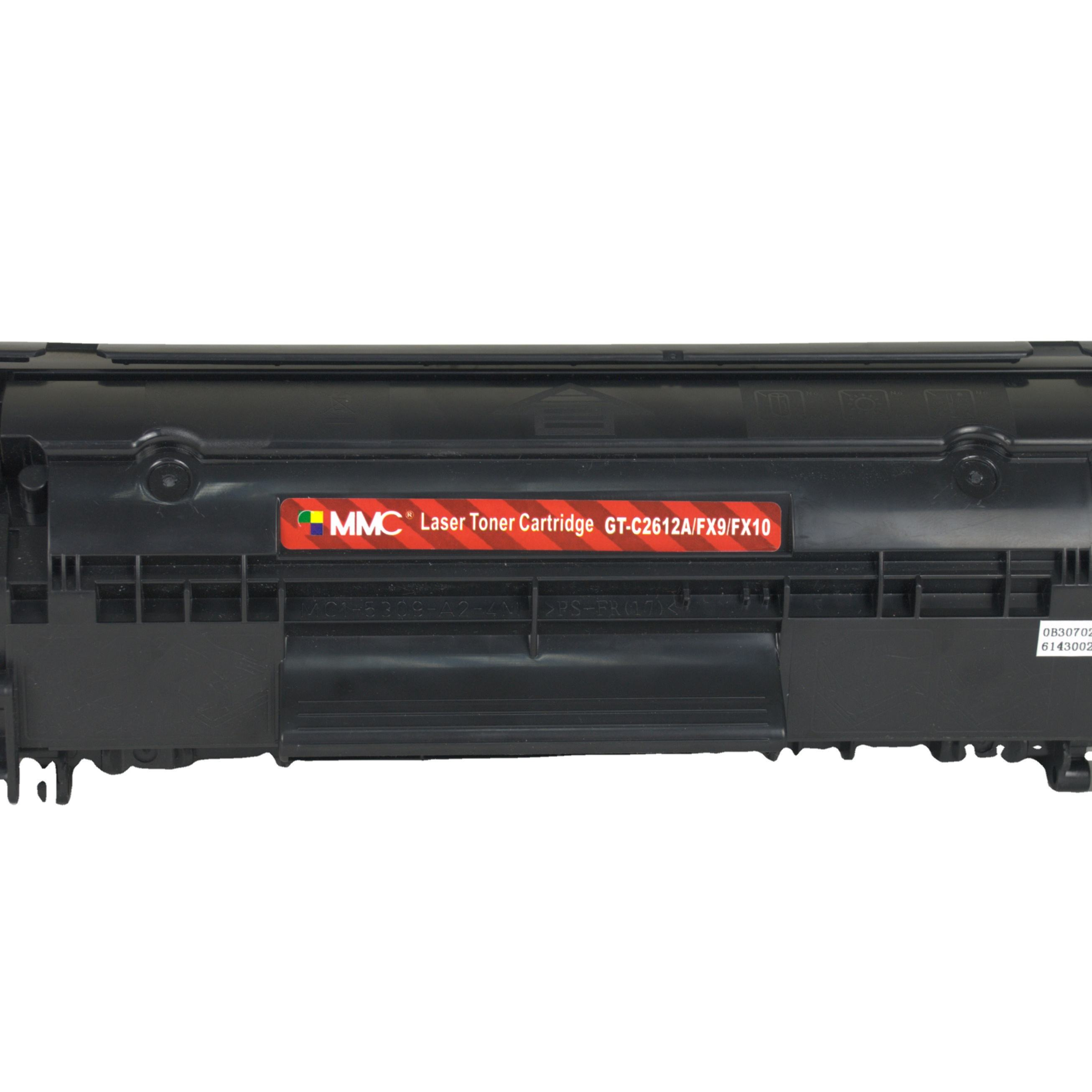 MMC wholesale compatible toner cartridge for HP Q2612A 2612A 12A 2612 plus HP 1005 1020 1022 m1005mfp laserjet printer toner