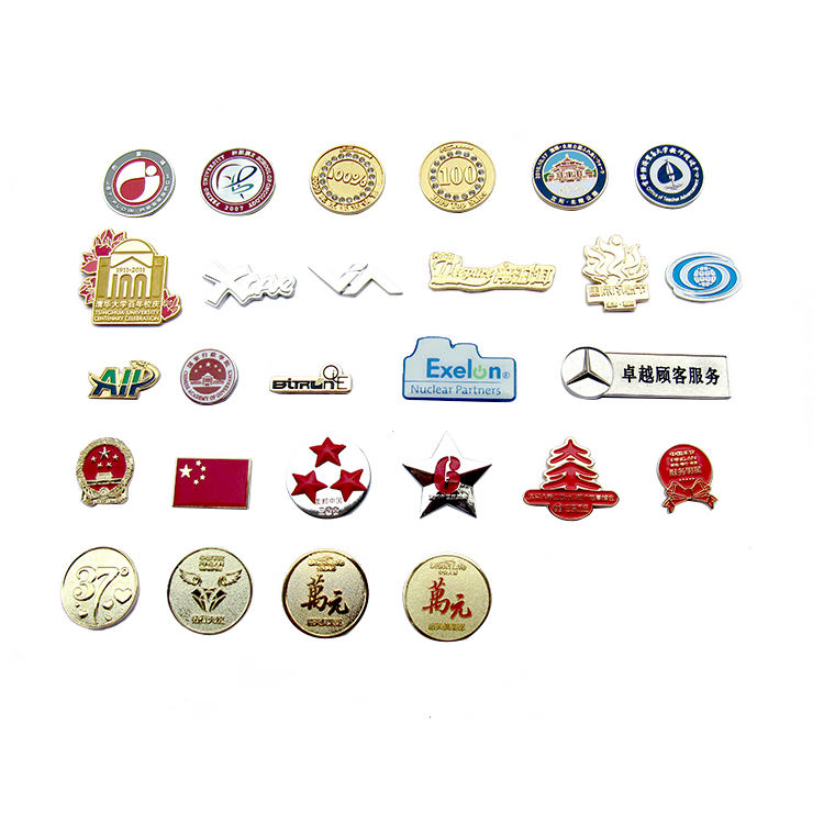 factory price cheapest material 1.5mm thick earth lapel pin