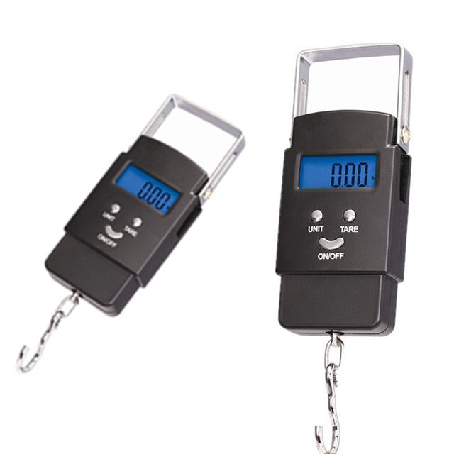 Portable Mini Electronic Fishing Digital BackLight Hanging Luggage Pocket Weight Scale