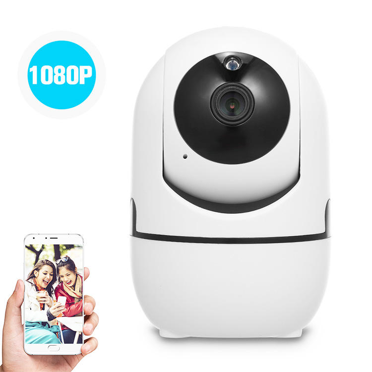 long record time SD card 1080P h 264 cctv system night vision 2 way audio motion detect auto track wireless p2p wifi ip camera