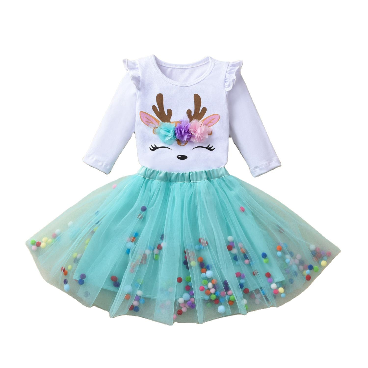Baby Girl Dress Unicorn Party Girls Tutu Dress Toddler Kids Clothes Baby 1st Birthday Outfits infantil vestido baby girl dress