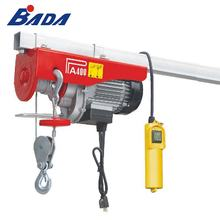 PA400B 440/880lb 120V AC capacity wire rope electric machine hoist