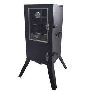 BBQ Vertical Smoker Charcoal Somker Grill Stand Charcoal BBQ Smoker With Adjustable Cooking Grid