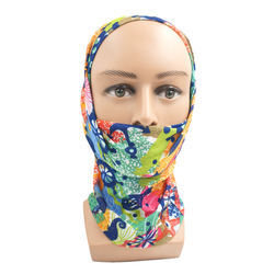 Wholesale Brand Seamless Breathable Anti UV Windproof Quick Dry Sports Face Protection Bandana Fishing Mask