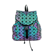 geometric luminous backpack bags 2019 new Travel Bags for School Back Pack holographic Bao Backpacks