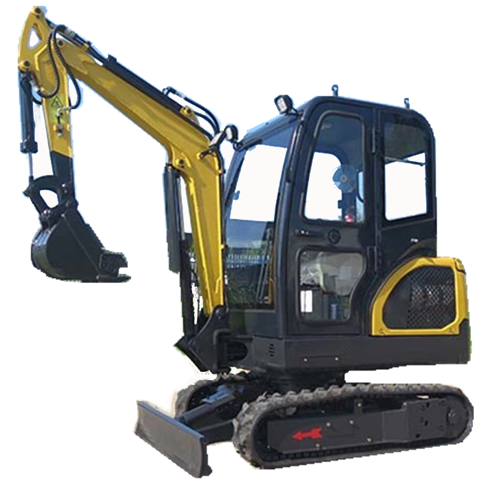 Vendas da fábrica 2t China Mini Escavadeira Digger com cabine