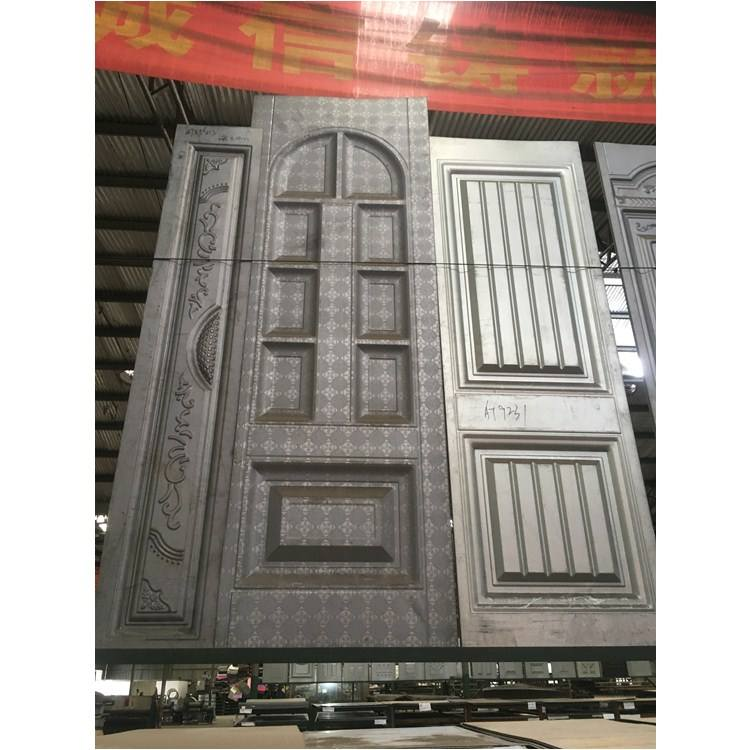 Custom Power Supply Metal Sheet Embossed Metal Steel Door Skin Cabinet Door Sheet Metal Safety Door Design
