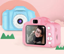 Toys Outdoor Photography 2 Inch HD Screen Chargeable Digital Mini Camera Kids Cartoon Cute Camera for Child Birthday Gift
