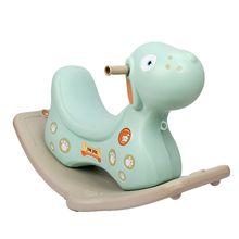Kindergarten children indoor plastic toys baby rocking horse kids ride on toy plastic rocking horse for sale