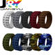 10 pack Silicone Wedding Ring for Men, Tyle style, 9 mm Silicone Rubber Wedding Bands for adult