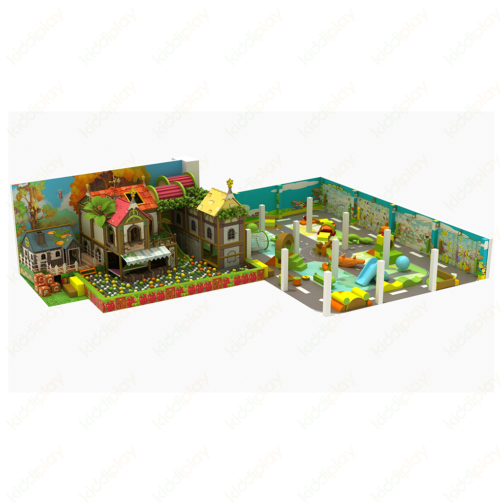 New design custom size commercial indoor playground equipment for kids