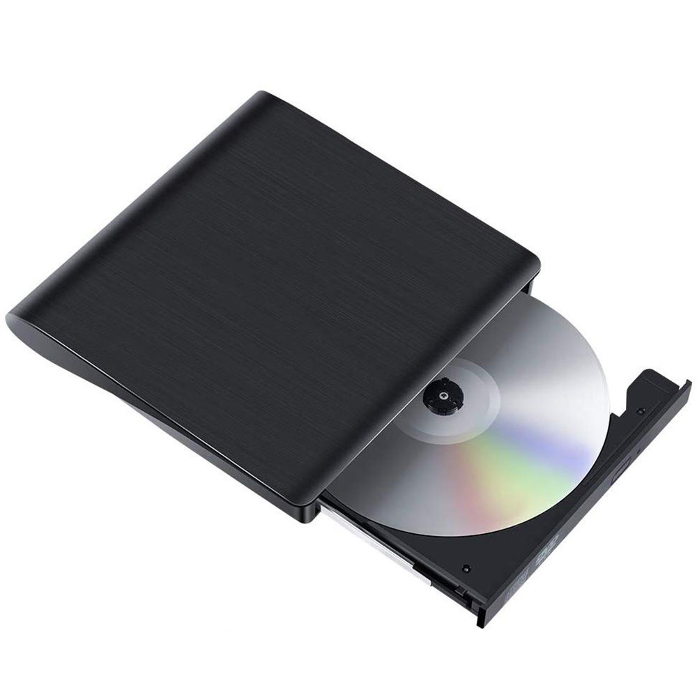 Raycue USB 3.0 Portable Drive Rewriter Slim External CD DVD Player