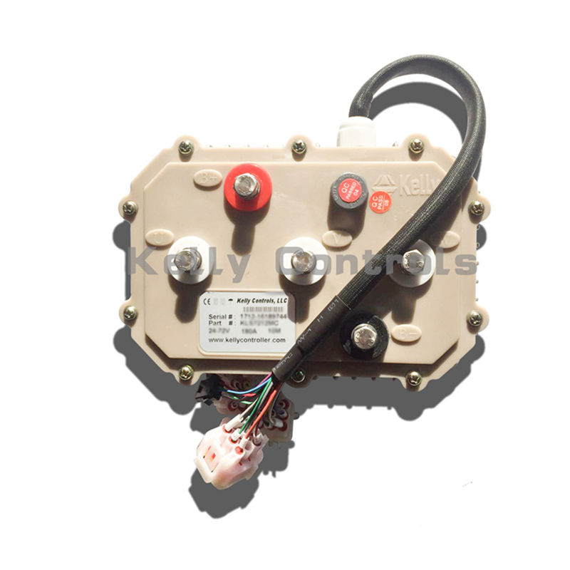 160A untuk 380A Kelly Controller 72V Disegel Trapesium Brushless Motor Speed Controller