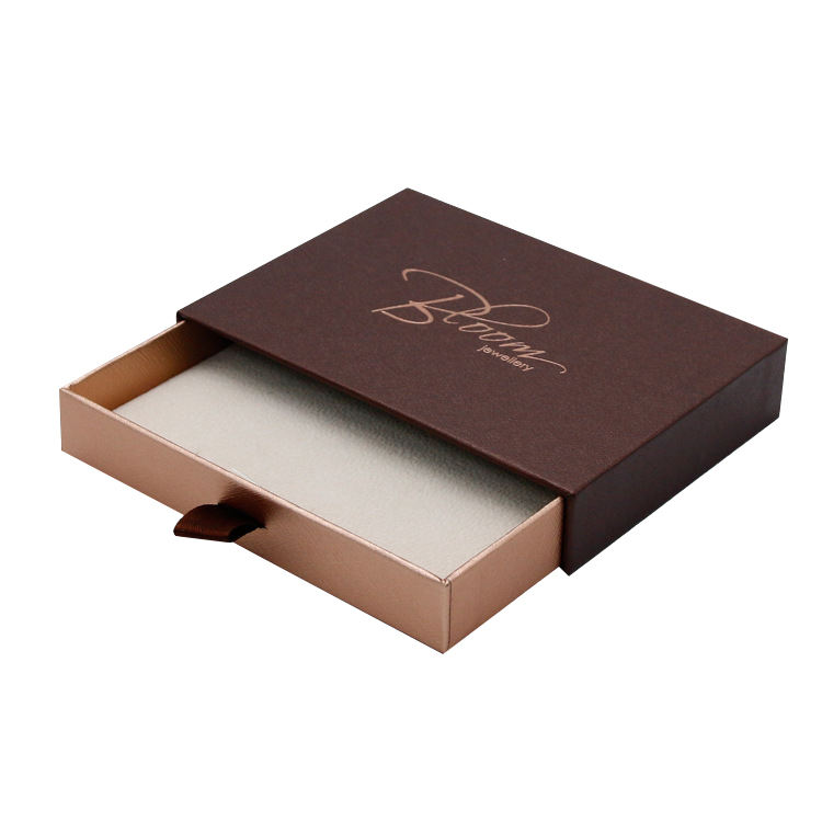 Cheap small luxury rigid cardboard pr box for business cards packaging