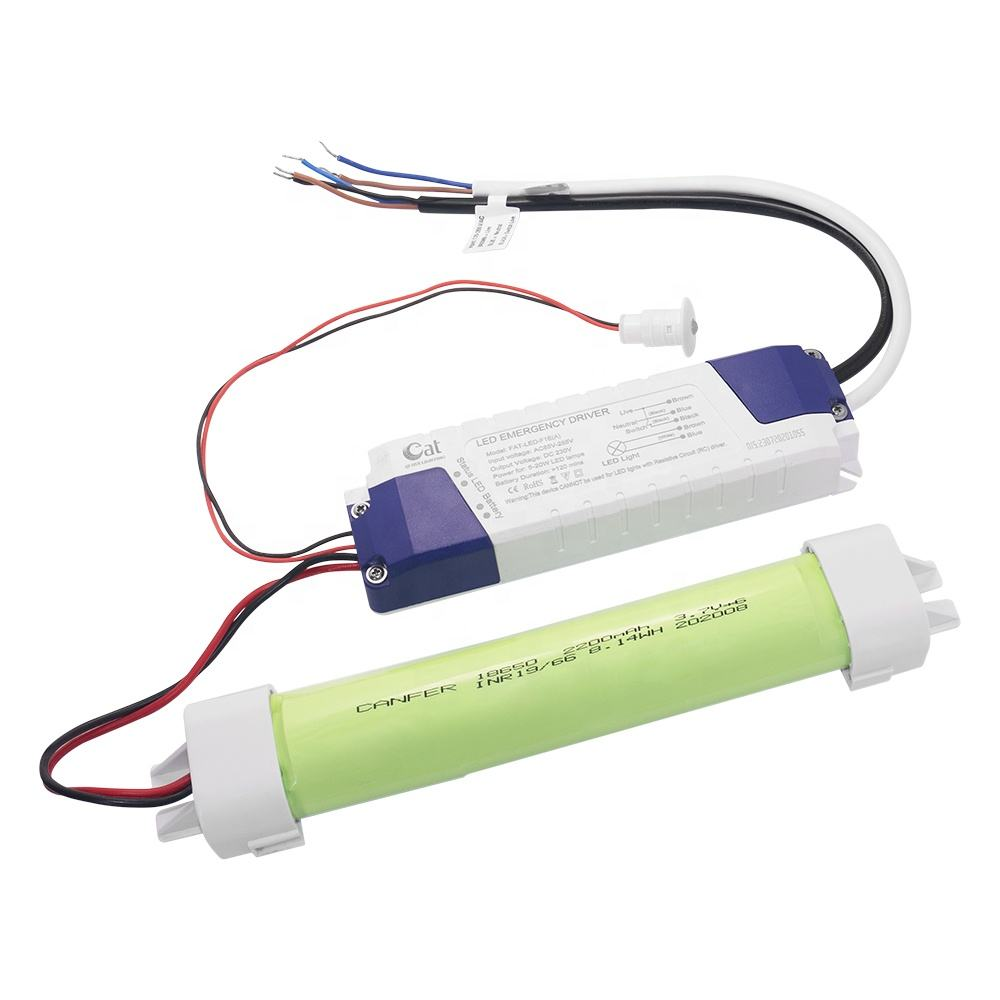 20W Maintained Emergency 3 Hours Li-ion Battery Pack Backup Emergency LED Driver