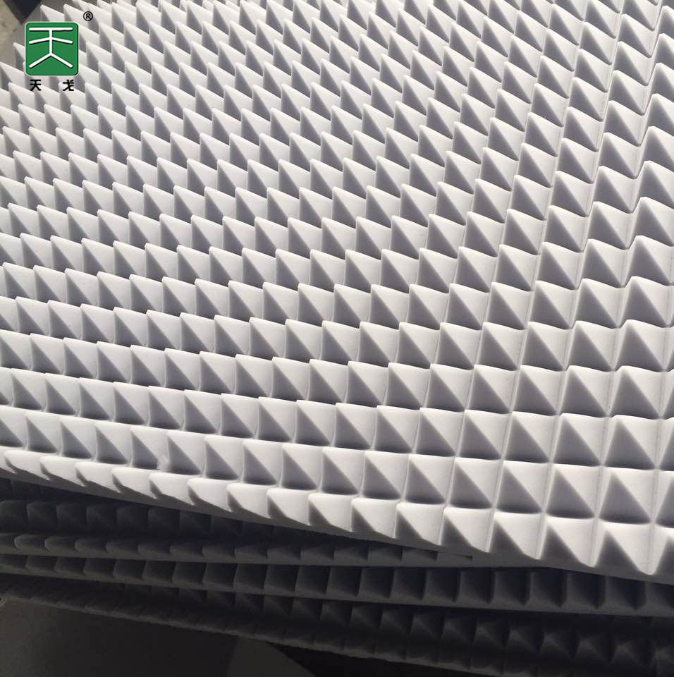 TianGe Factory sound dampening foam acoustic panels fireproof esponjas acusticas acoustic foam panels