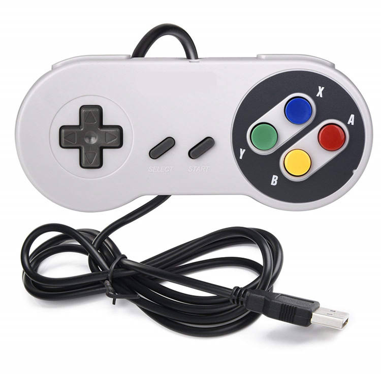 Classic Super Mini Usb Wired Controller Voor Nintendo Snes