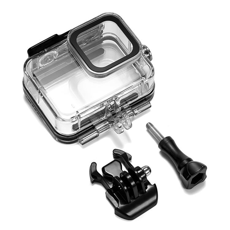 Waterproof Housing 60M Underwater Case for Hero 8 Black Sports Camera with Bracket Screw Accessories