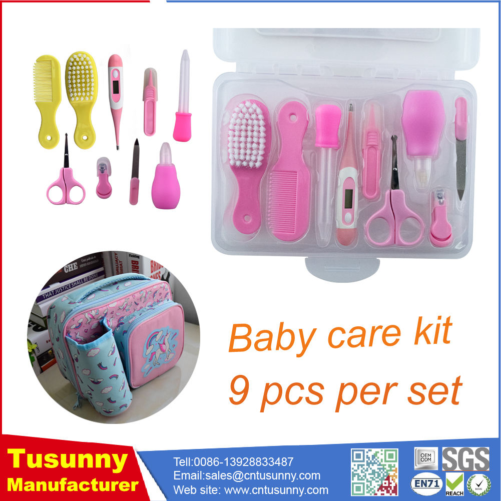 Baby Health Care Kit Portable Newborn Baby Grooming Kit