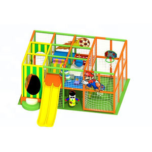 Preschool Toddler Gym Indoor Baby Soft Play Equipment, Entertainment Slide Toddler Soft Play