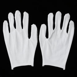 Free Masks 14kg White Cotton Labor Protection Gloves Thin Gl