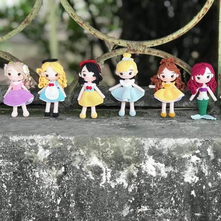 Cutest Crochet Toys: 16 Super Cuite Amigurumi Toys to Crochet by Lana Choi   750x750