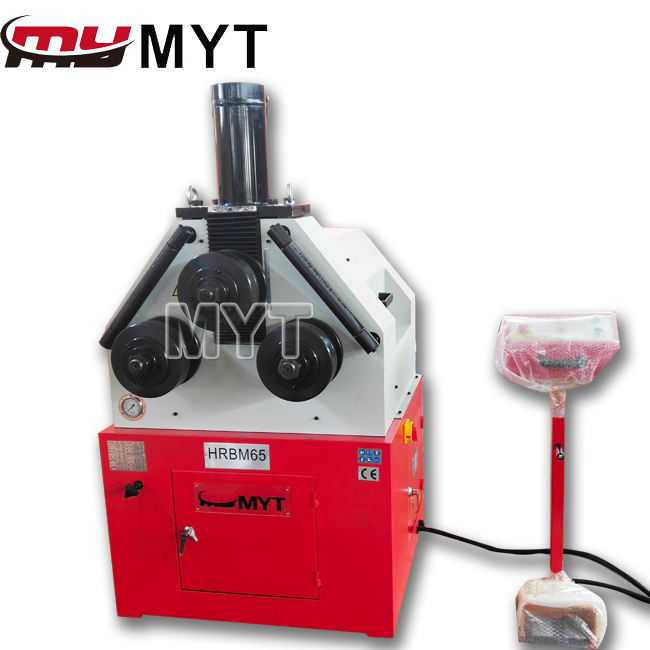 MYT Shanghai HRBM-65 Automatic Section Material 3 Roller Manual Bending Machine / Hydraulic Pipe Bender