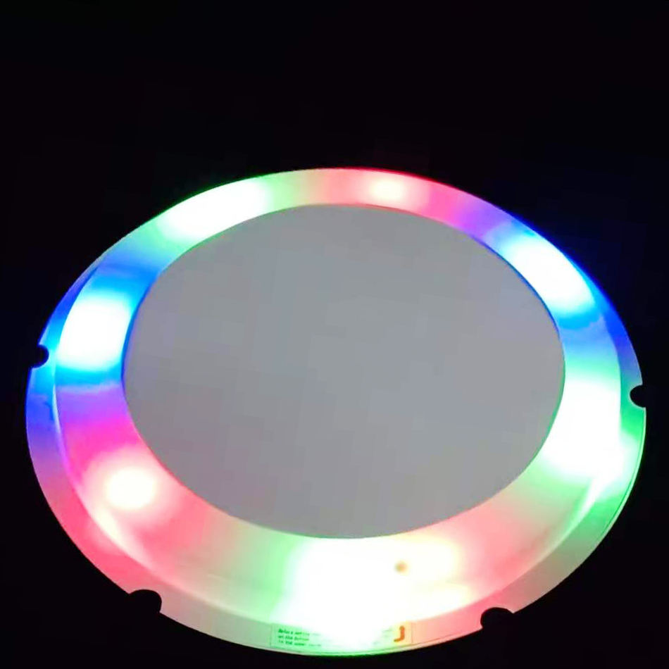 "YF 10"" celebrating cake stand multicolor flicker lighting surprise base new cake holder for festival"