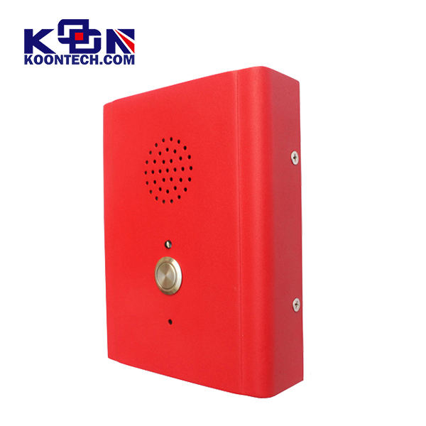 Knzd-13 sos Sip phone call box Speed dial Emergency intercom Door Phone one button bank ATM TELEPHONE