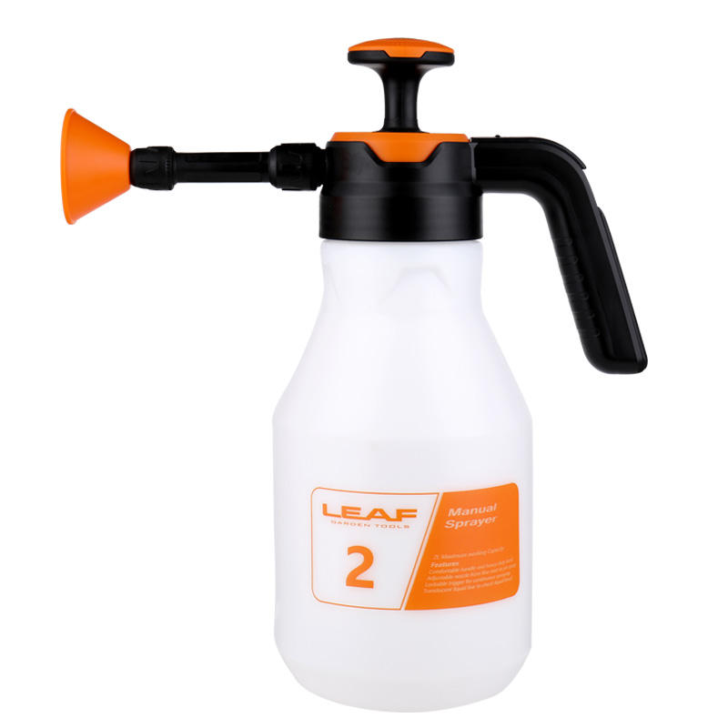New Product 2L Hand Air Pressure Release Water Mist Sprayer Garden Home Sprayer with Adjustable Nozzle
