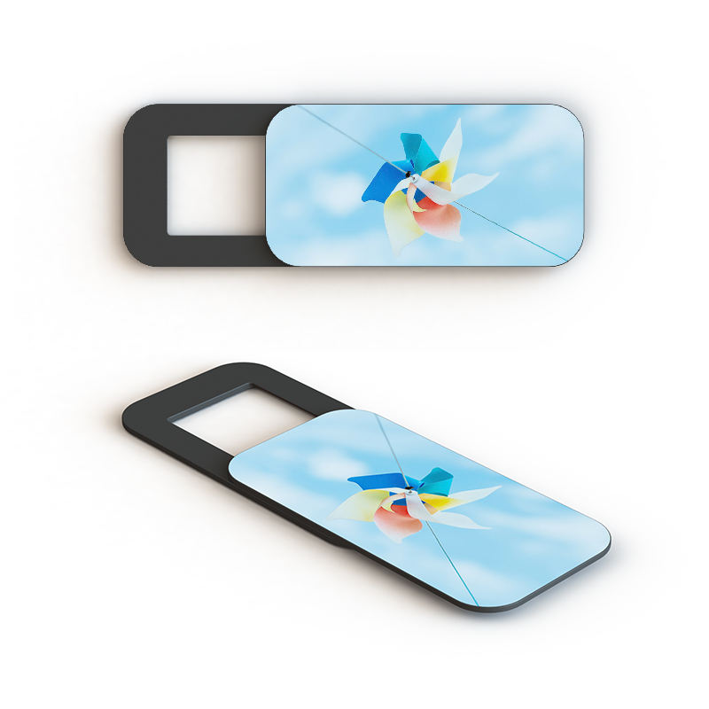 Plastic laptop cover slide voor smartphones privacy protector custom logo camera cover voor computer