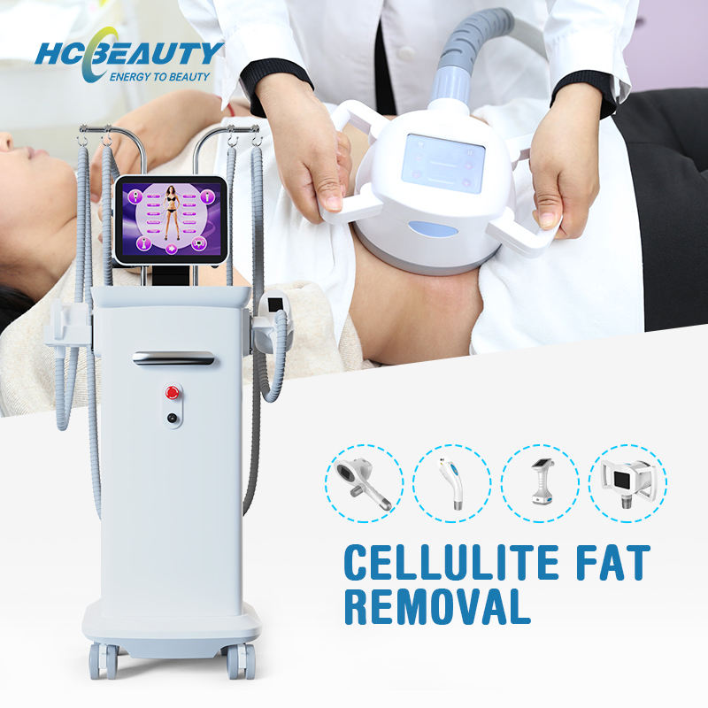 New trending weeight loss cellulite reduction New RF+Cavitation+Vacuum+BIO slimming system M9