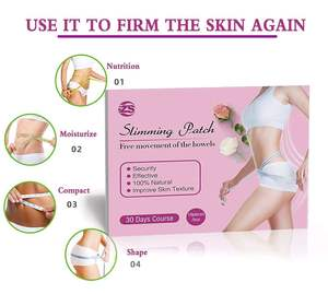 One-time use fat-reducing patch slimming patch