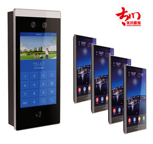 New Android OS tcp/ip intercom system video door phone Flat to Flat Call for apartment & Smart Home Integrated