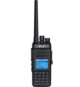 GPS DMR Tyt MD-398 Numérique DMR radio IP 67 étanche talkie-walkie + talkie-walkie radio bidirectionnelle