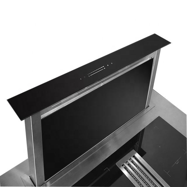60CM 90CM Super Quiet Downdraft Kitchen Cooker Hood
