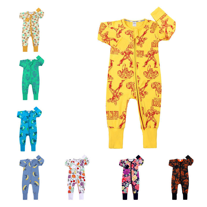 Baby Jumpsuit male and female baby clothes New newborn clothes 2020 fashion long sleeve baby romper