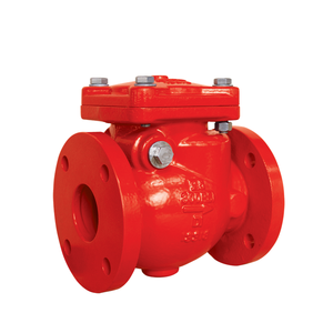 AWWA C508 swing flanged 300psi check valve