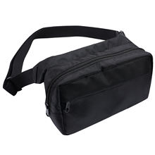 Factory Price Unisex Men And Women Large Fanny Pack Custom Crossbody Chest Cross Shoulder Big Waist Bag Bum Bag With Zipper